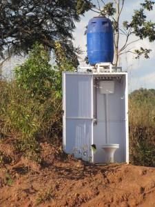 Novedoso y avanzado sistema de sanitarios al costado de las rutas brasileñas