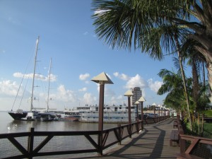Parte de la costanera de Belém