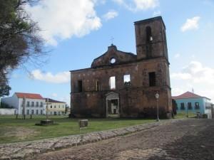 Ruinas de Iglesia en Alcántara