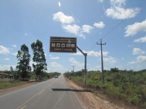 Llegando a nuestro destino procedentes de Sao Luis