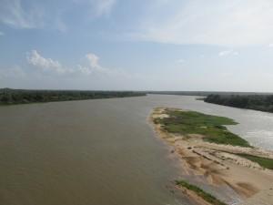 Río Parnaiba, que genera en su desembocadura uno de los deltas más importantes de América