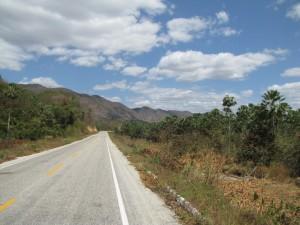 Camino a Viscosa en las Sierras de Ibiapaba