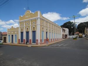 Teatro de Viscosa, recientemente restaurado