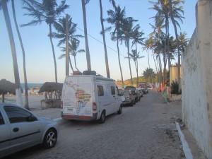 Lagoinha: hermosa playa en la cual pernoctamos