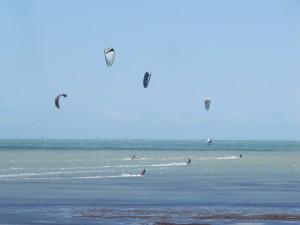 Kitesurf en Cumbucu