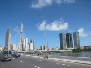 Toma de Recife en una de las partes nuevas de la ciudad