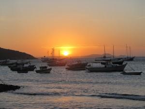 Puesta de sol en Buzios