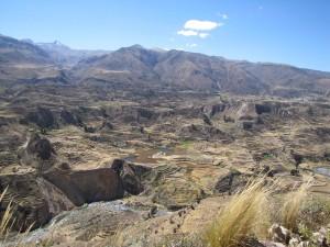 Perú: el Cañón del Colca, cerca de Arequipa