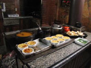 Cocina Mineira con fogón a leña