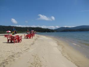 Playa en Paraty Mirim